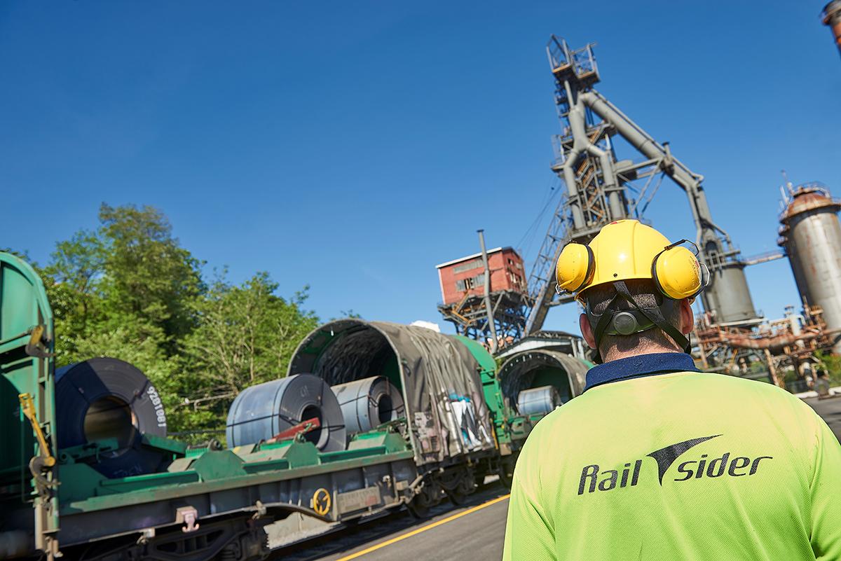 Railsider, empresa de logística y transporte