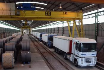 Doblamos capacidad en nuestros almacenes siderúrgicos de Can Tunis, Barcelona