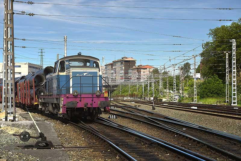 Materiel roulant Railsider