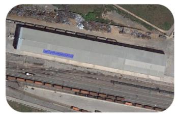 Railsider instala paneles solares para generar energía propia en su terminal de Sagunto