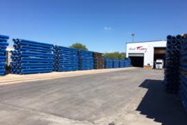 servicio de transporte ferroviario y almacenamiento en logística
